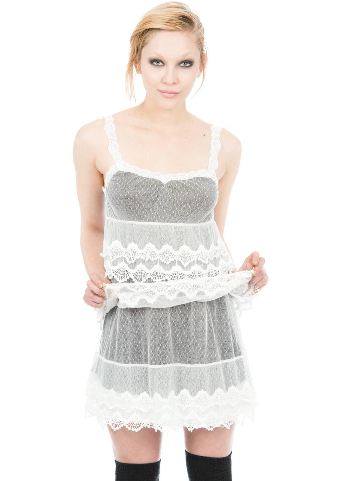Iron Fist Lace Doll Dress