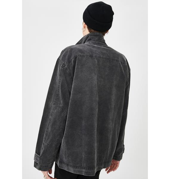 Disturbia Waste Denim Jacket