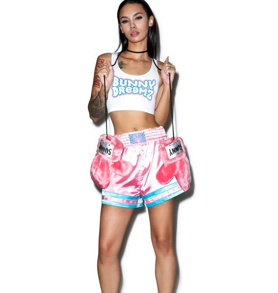 Bunny Dreamz Light Logo Crop Top