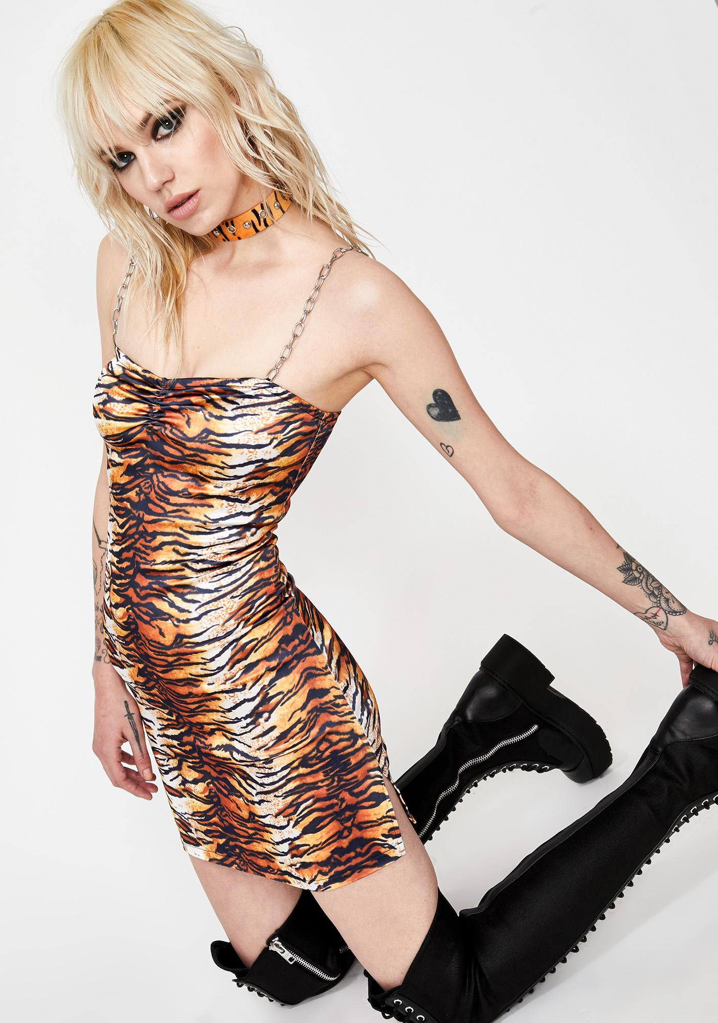 HOROSCOPEZ Lethal Weapon Tiger Dress