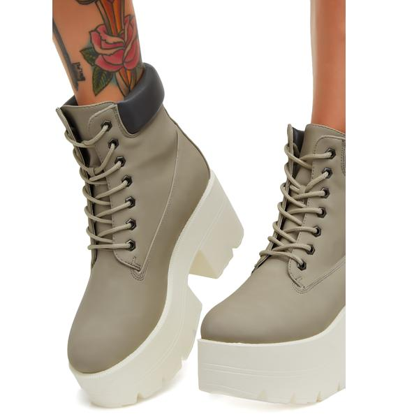 Bad 2 The Bone Platform Boots
