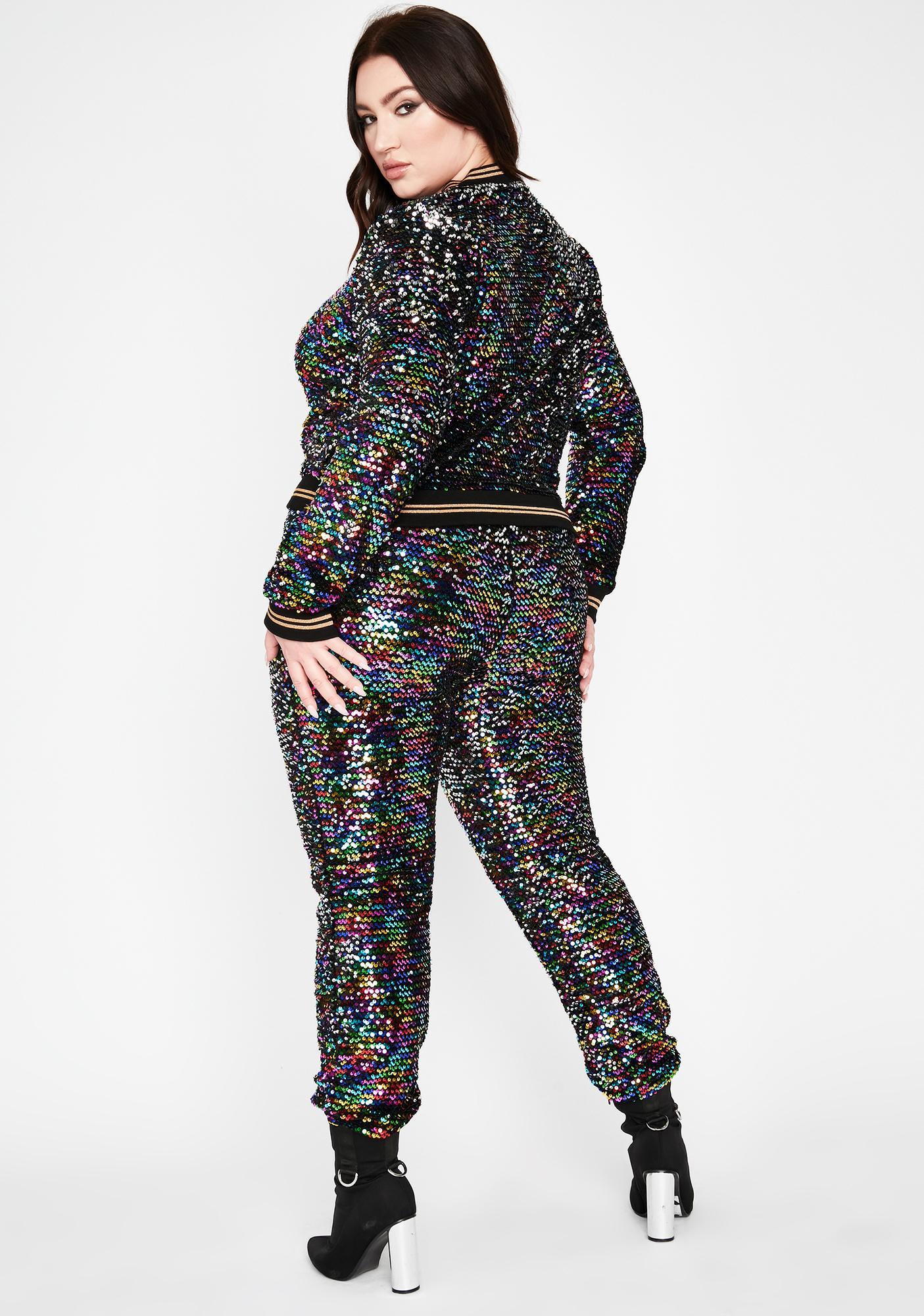 Reppin' Glitter Gang Sequin Pants