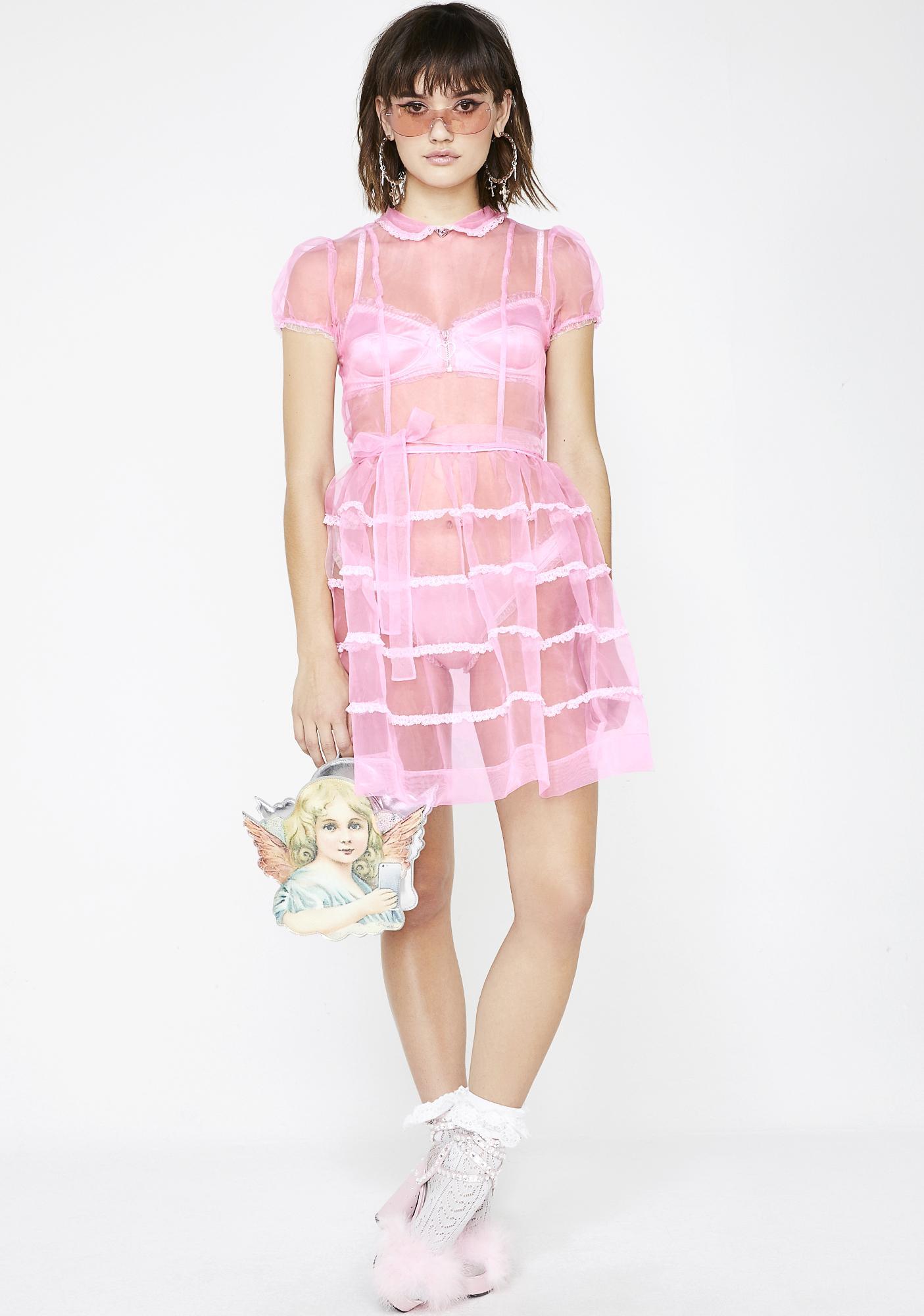Sugar Thrillz Innocently Lovestruck Organza Dress