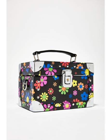 Flower Power Trunk Bag