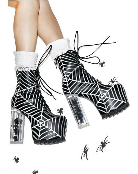 The Webs We Weave Boots
