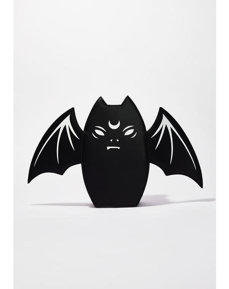 Grump Bat Handbag