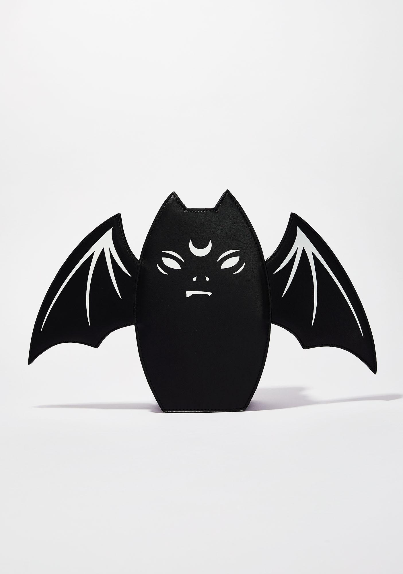 Killstar Grump Bat Handbag