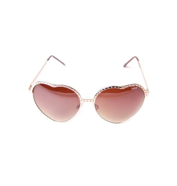 Quay Eyeware Hearts Sunglasses