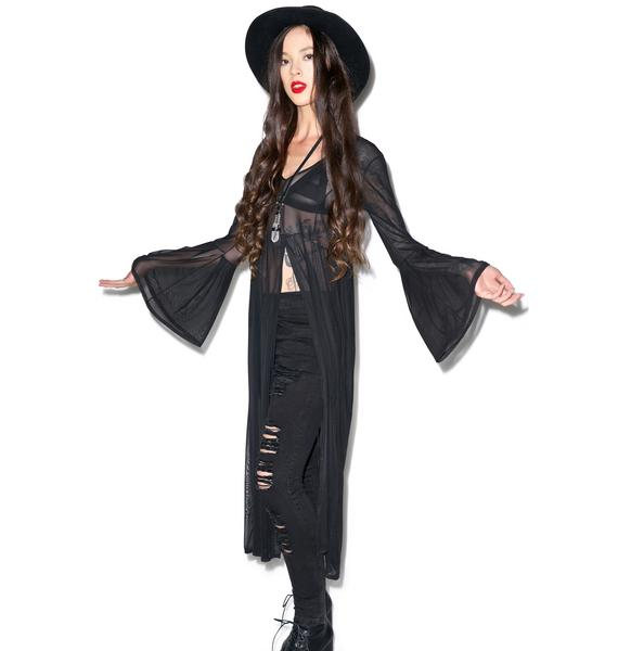 The Ragged Priest Witchcraft Mesh Dress
