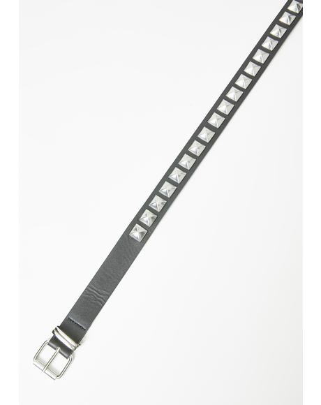 Bad Impression Studded Belt
