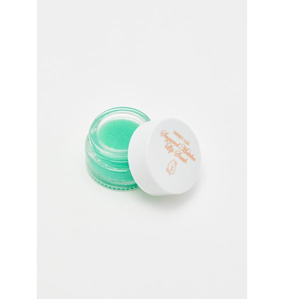 Winky Lux Sugared Matcha Lip Scrub