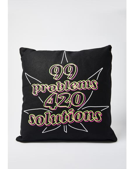 99 Problems Pillow