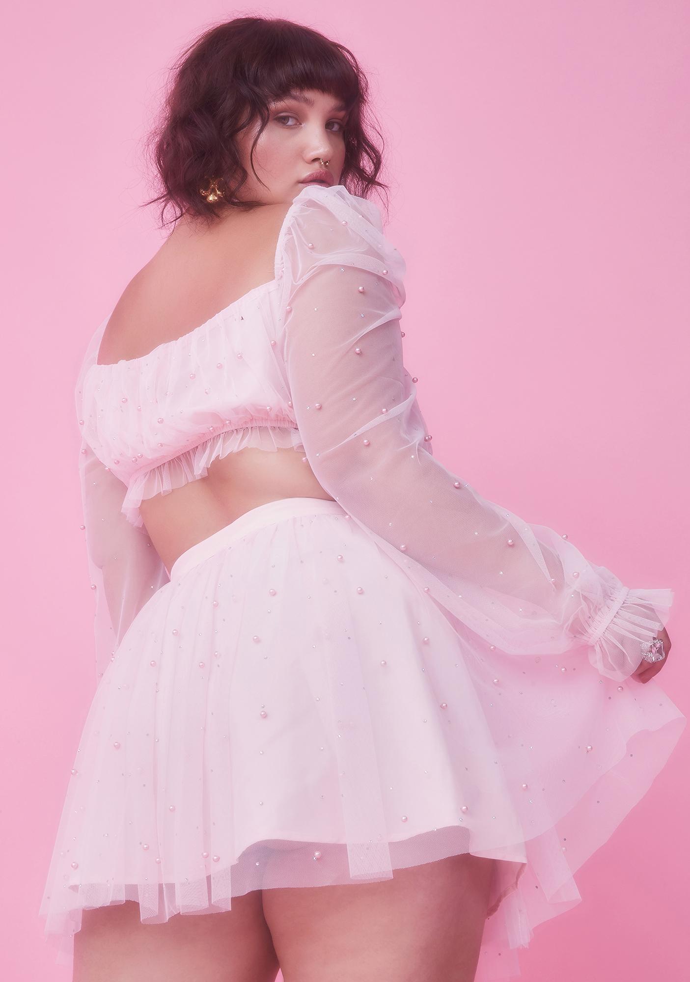 Sugar Thrillz Servin' Fairy Glam Mother Tulle Skirt