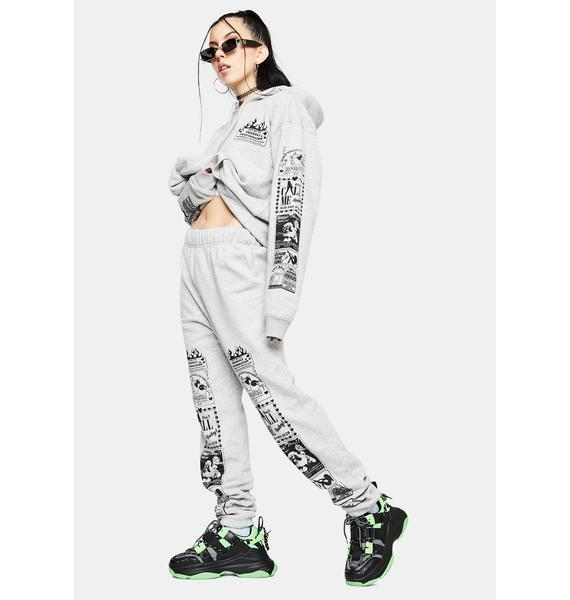 NEW GIRL ORDER Conversation Jogger Sweatpants