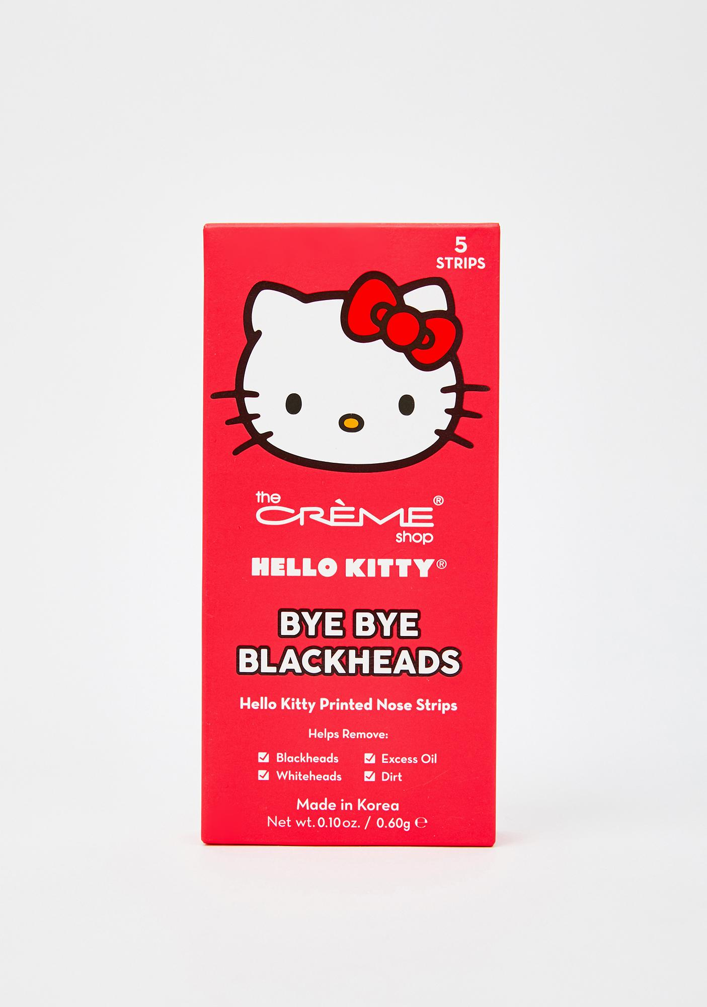 The Crème Shop Hello Kitty Bye Bye Blackhead Nose Strips