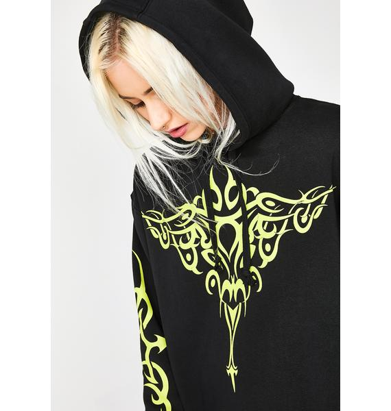 Current Mood Cheat Sheet Graphic Hoodie