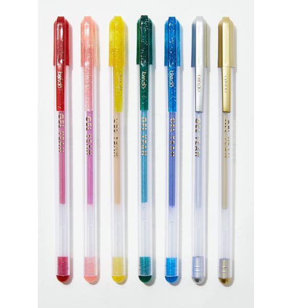 Glitter Jelly Pens