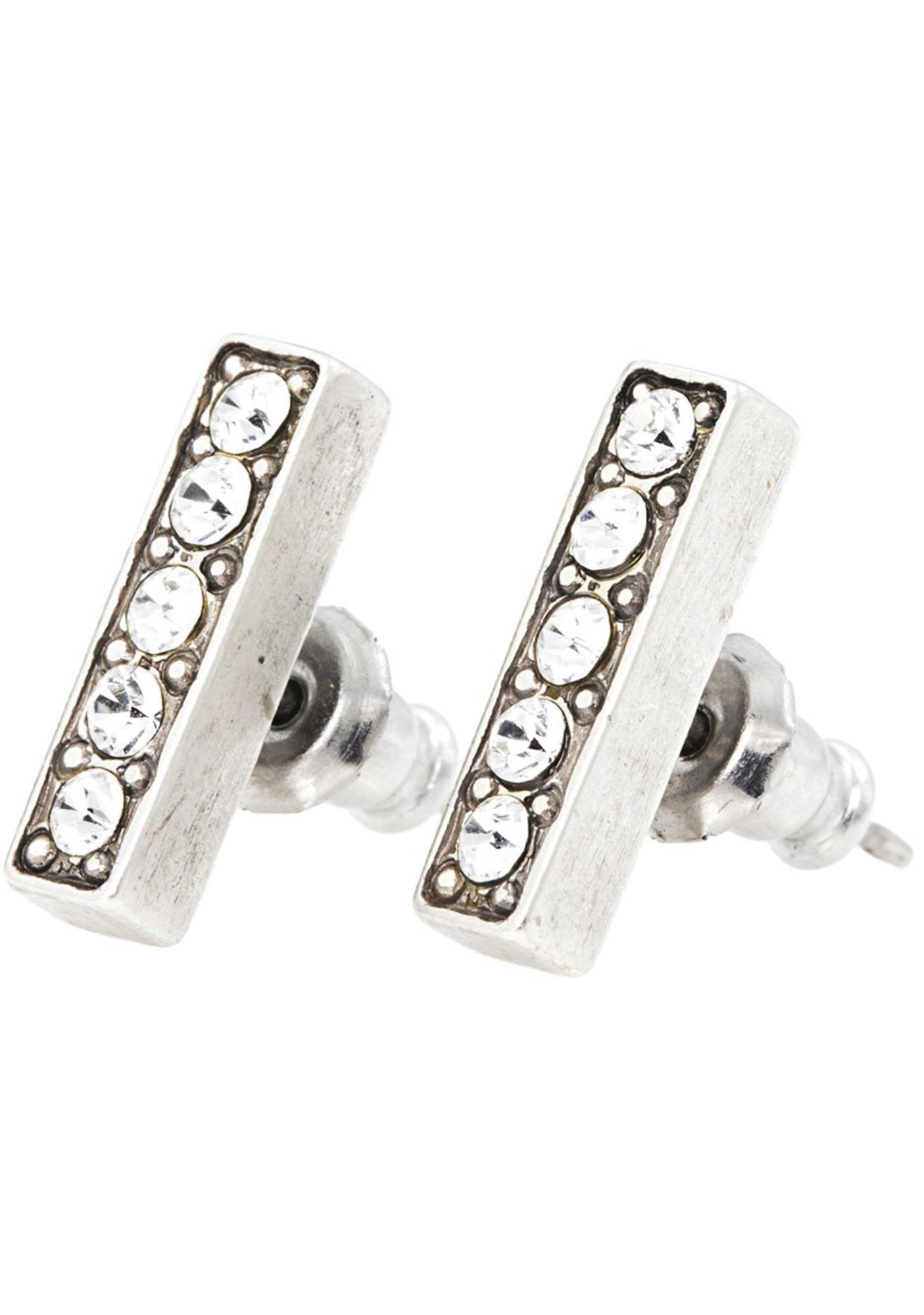 Vanessa Mooney Femme Fatale Antiques Earrings Silver