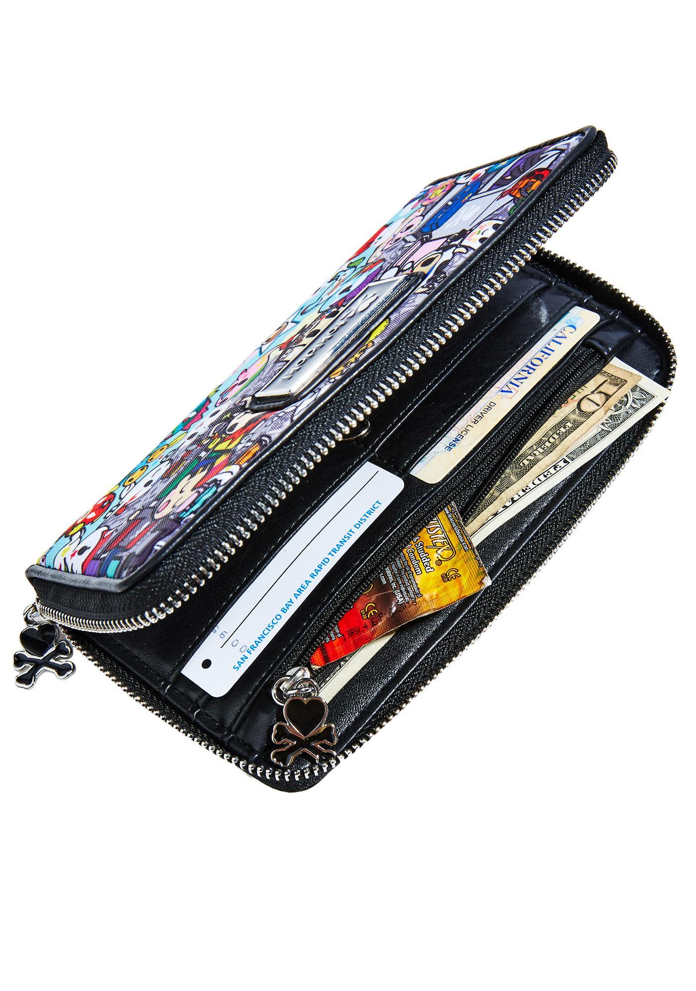 Tokidoki Jetsetter Large Wallet