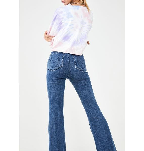 Show Me Your Mumu Austin Pull On Flare Jeans