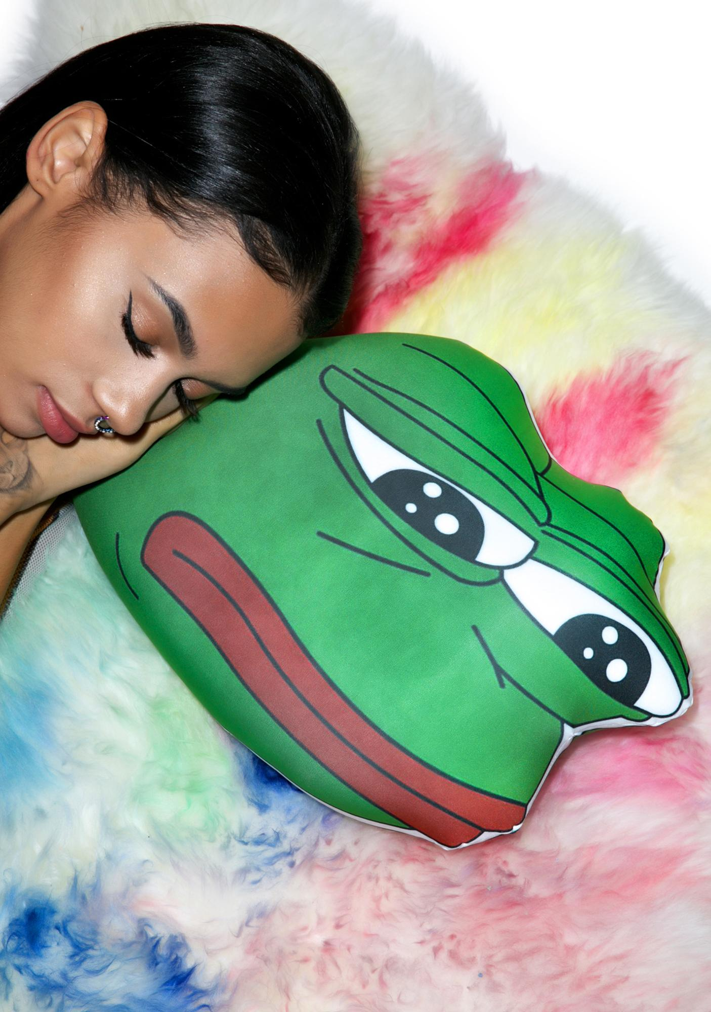O Mighty Rare Pepe Pillow