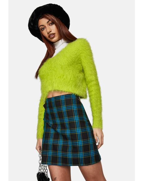 Trinity Plaid Mini Skirt