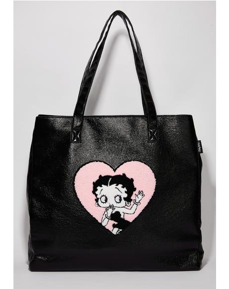 Betty Boop Patent Bag