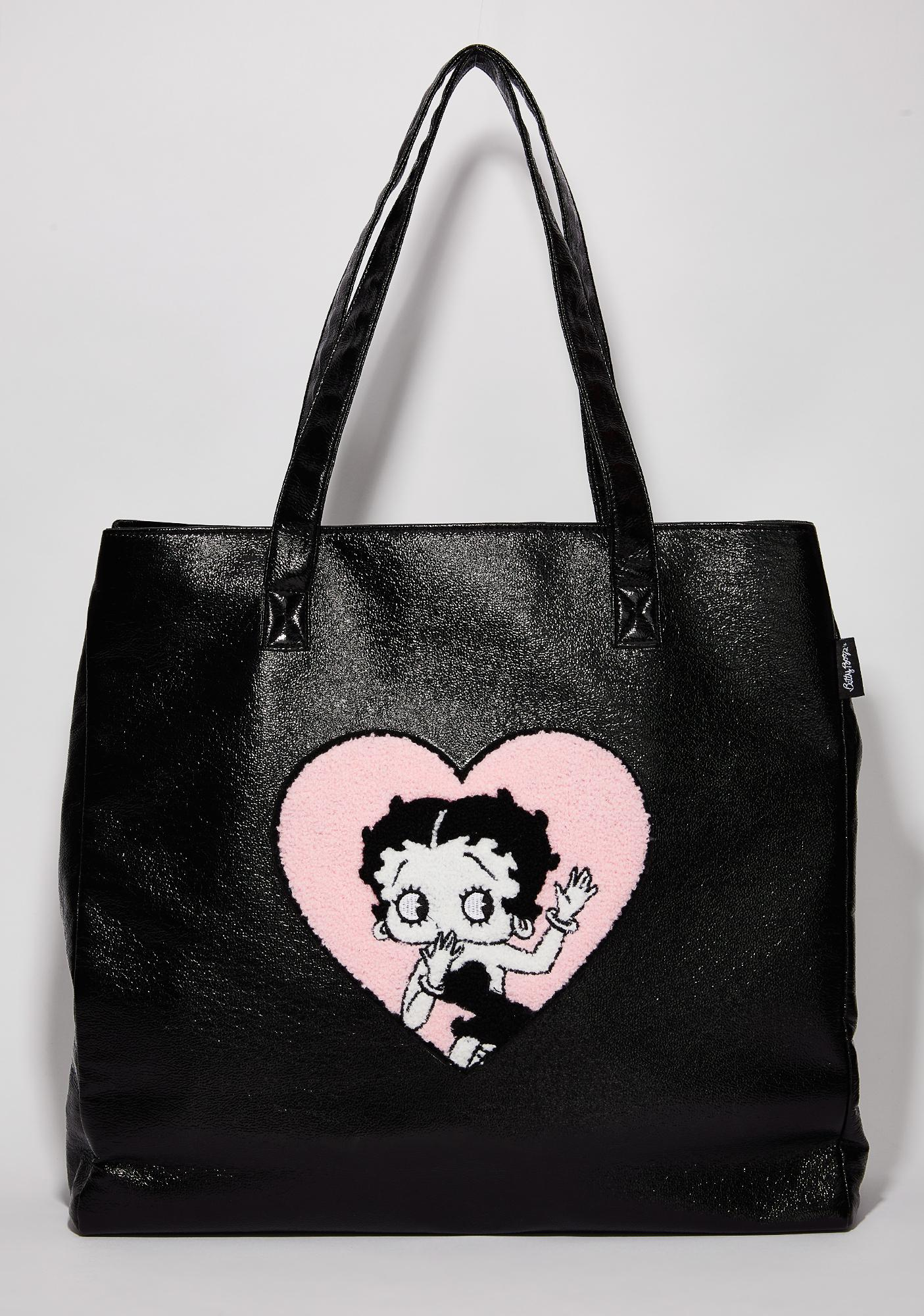 Lazy Oaf Betty Boop Patent Bag