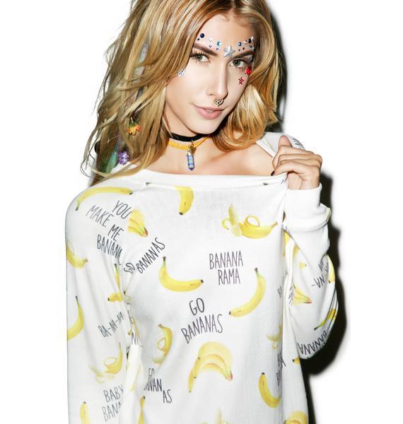 All Things Fabulous Bananas Cozy Sweatshirt