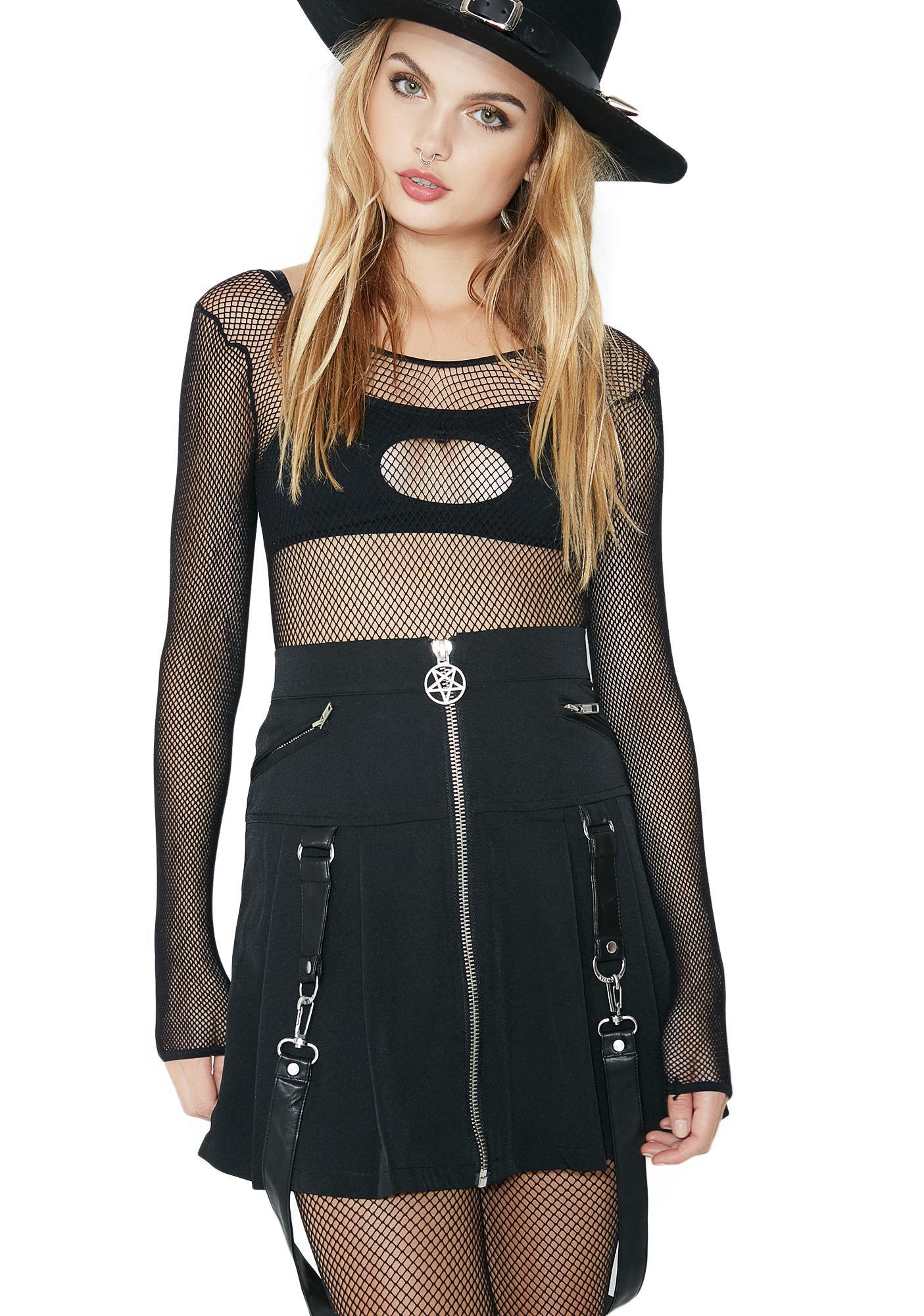 Killstar Blaire B*tch Mini Skirt