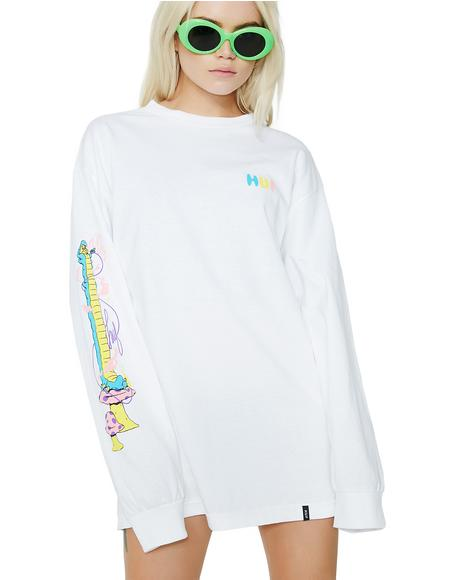 Who R U Long Sleeve Tee