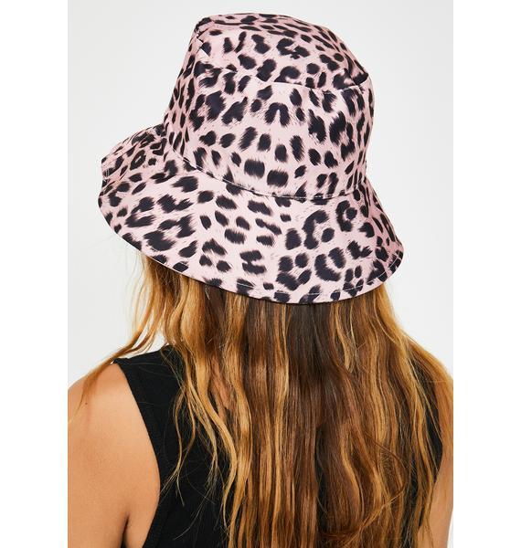 Catastrophic Feline Leopard Bucket Hat