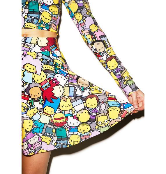 Japan L.A. The Village Circle Skirt