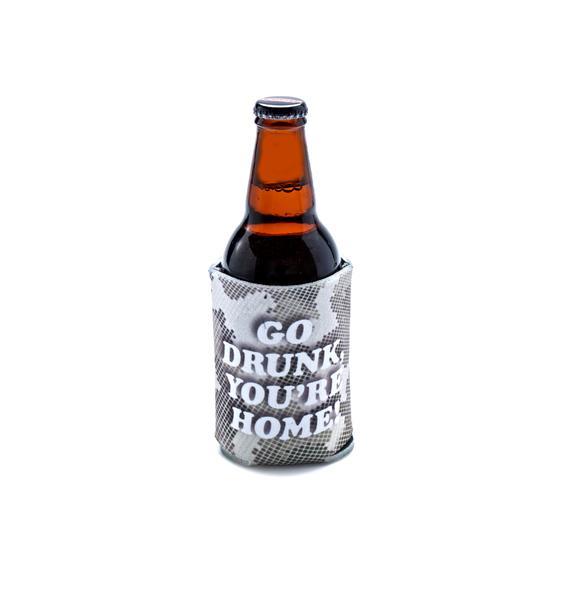 Creep Street Go Drunk Beer Koozie