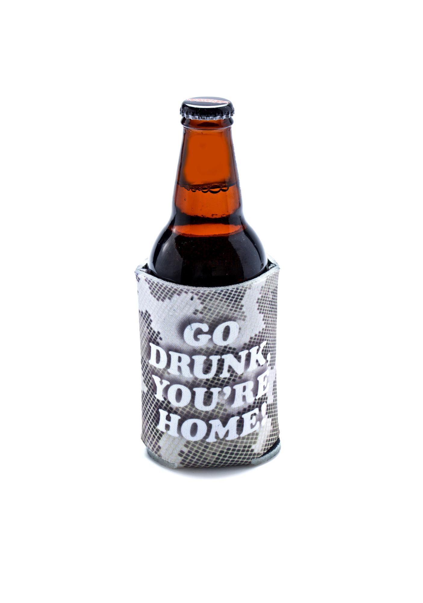 Creep Street Go Drunk Beer Koozie