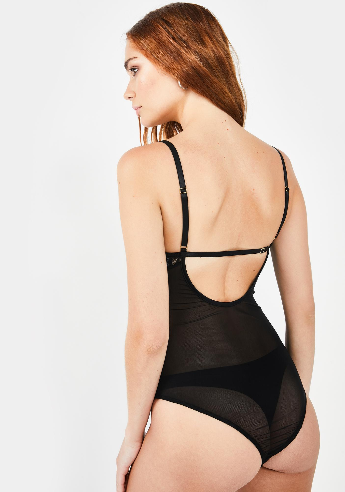 She is Us Lady Luxe Lace Bodysuit