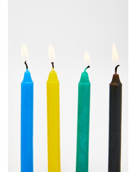 Enchant Me Colored Candle Set