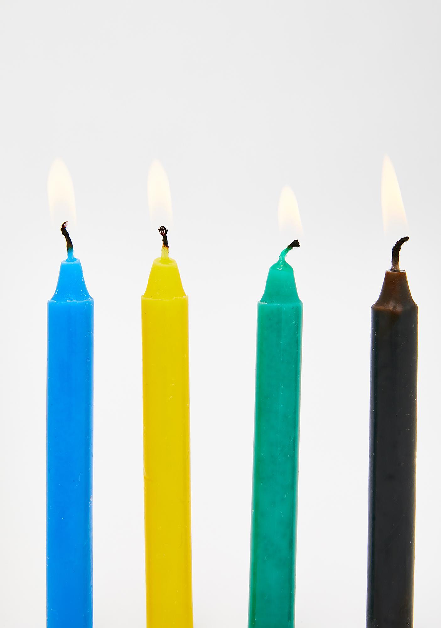 Enchant Me Colored Candle Set