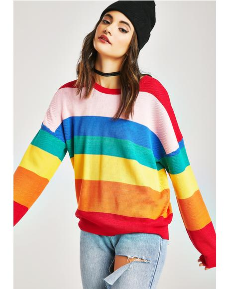 Castro Rainbow Sweater