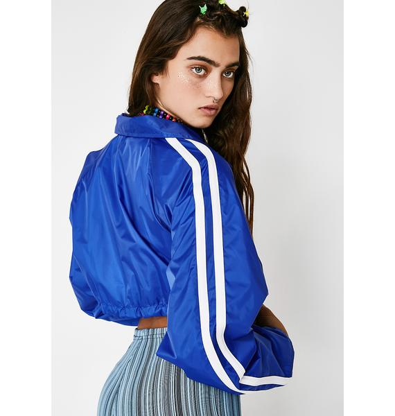 Royal Challenge Accepted Cropped Jacket