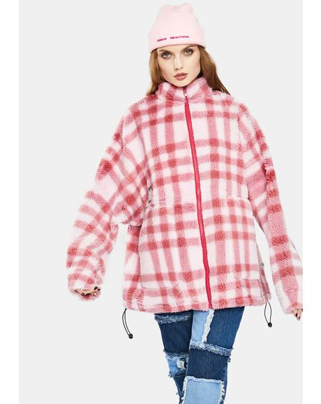 Original Checked Boa Jacket