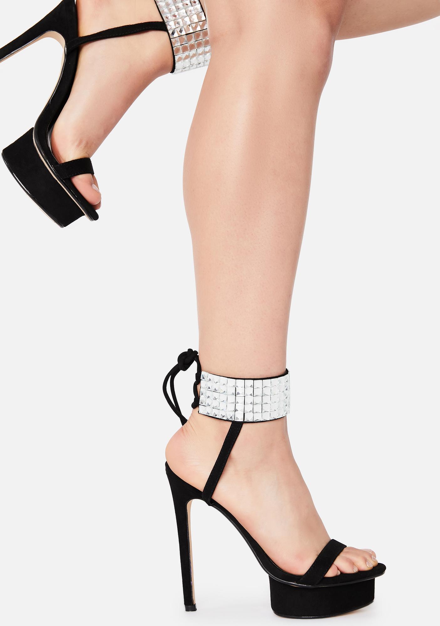 Lemon Drop by Privileged Cogrezzo Platform Heels
