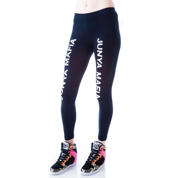 Junya Mafia Names Leggings