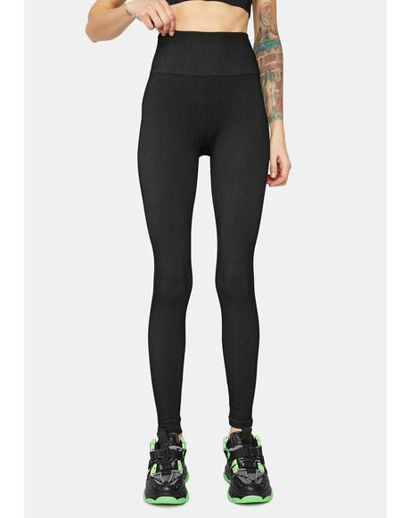 Reach My Goals High Waist Leggings