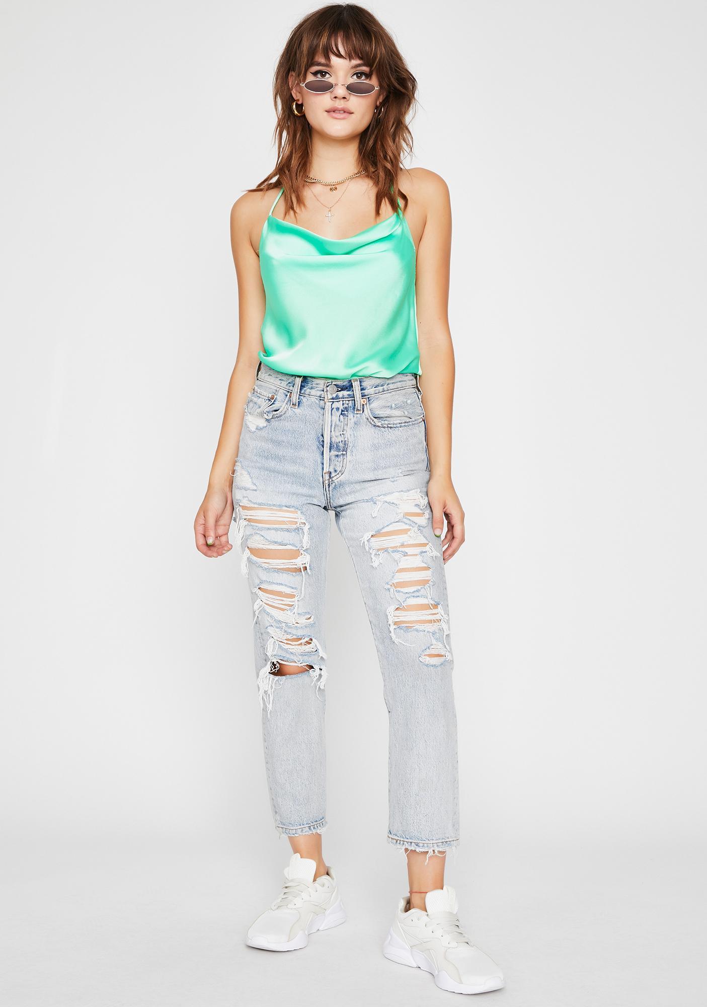 Take It Easy Cami Bodysuit