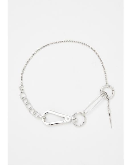 Livin' Rough Chain Choker