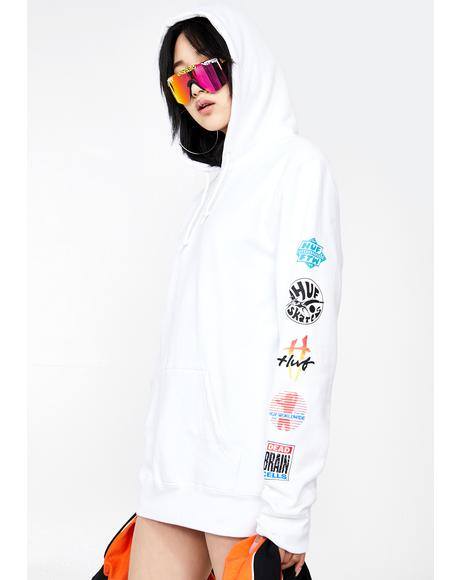 Sticker Wars Graphic Hoodie