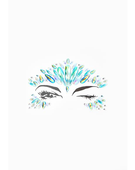 Snow Queen Iridescent Face Jewels