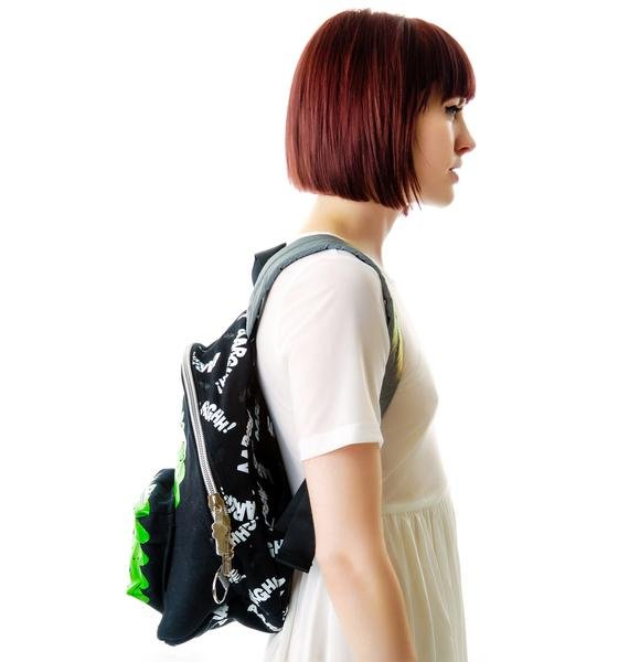 New Breed Girl 3D Dino Backpack