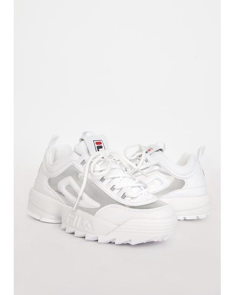 Disruptor 2 Clear Sneakers